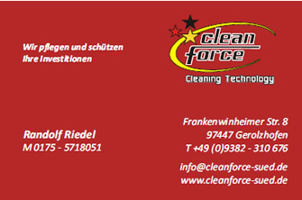Cleanforce Süd - Randolf Riedel