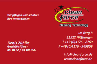 Cleanforce GmbH - Denis Zühlke